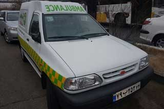 اعزام آمبولانس به محل